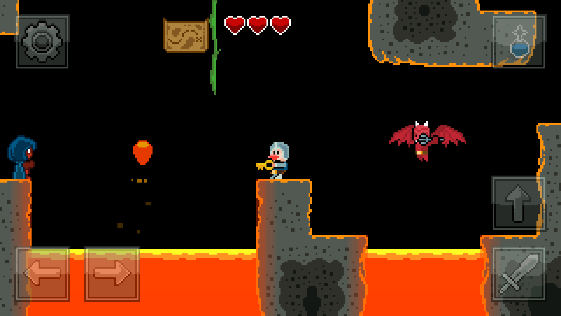 Cracked Crusaders is an upcoming fast-paced action-platformer for iOS and Android
