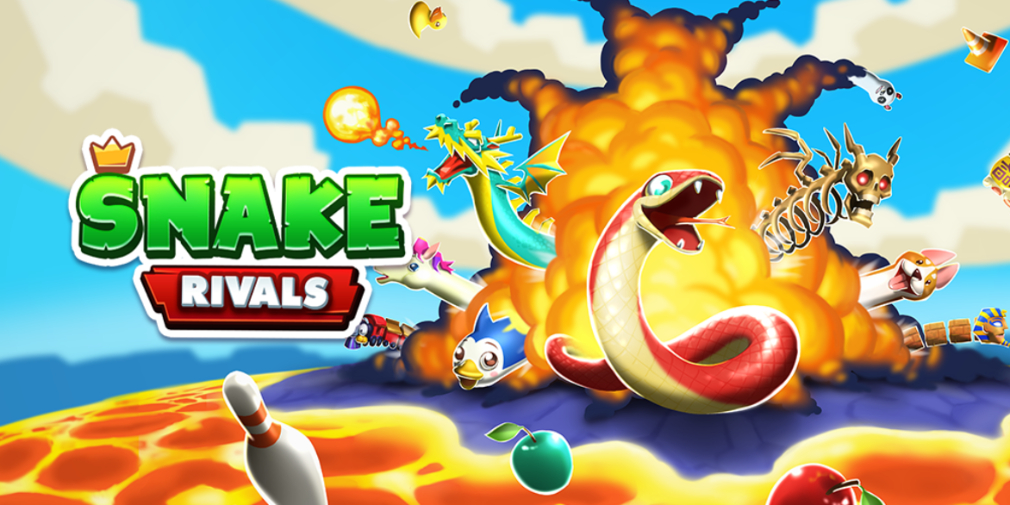 Snake Rivals, an inventive PvP game with giant snakes, is available now for iOS and Android