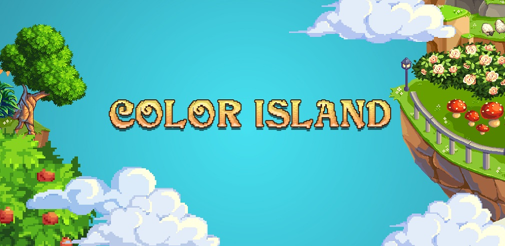 Pixel Art: Color Island sees you colouring and building beautiful pixel art islands