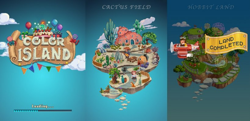Color Island update: more reasons to indulge your inner artist