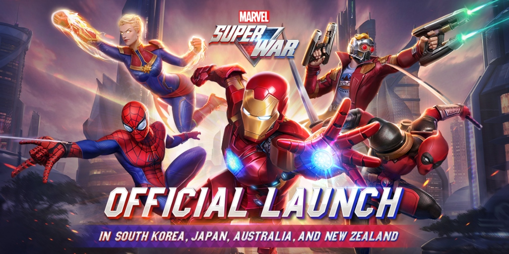 Marvel Super War is now available in South Korea, Japan, Australia, and New Zealand