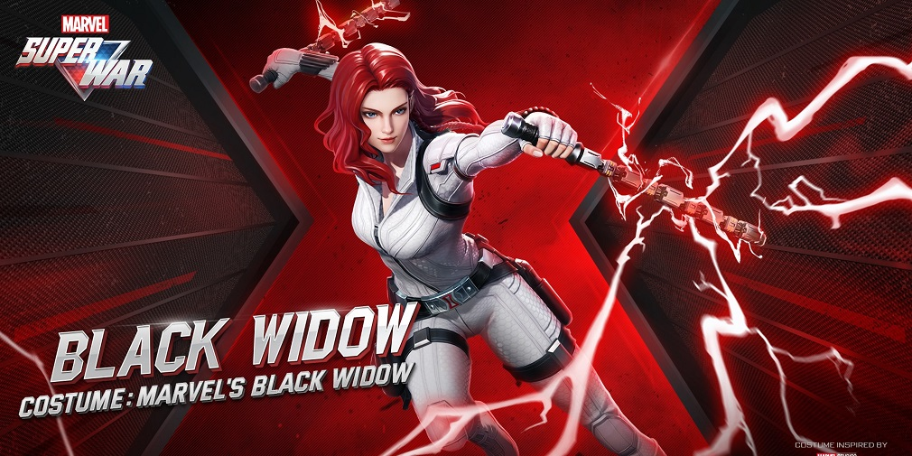 Marvel Super War reveals collaboration skins for upcoming Black Widow film