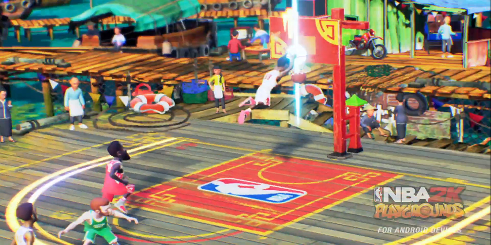 An open beta of NBA 2K Playgrounds is available now for Android