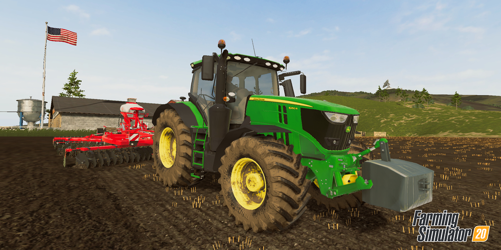 Farming Simulator 20 has received a free update that adds new vehicles to the game