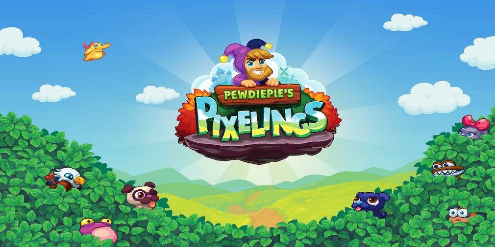PewDiePie's Pixelings is a new creature-collecting game that's heading for iOS and Android in November