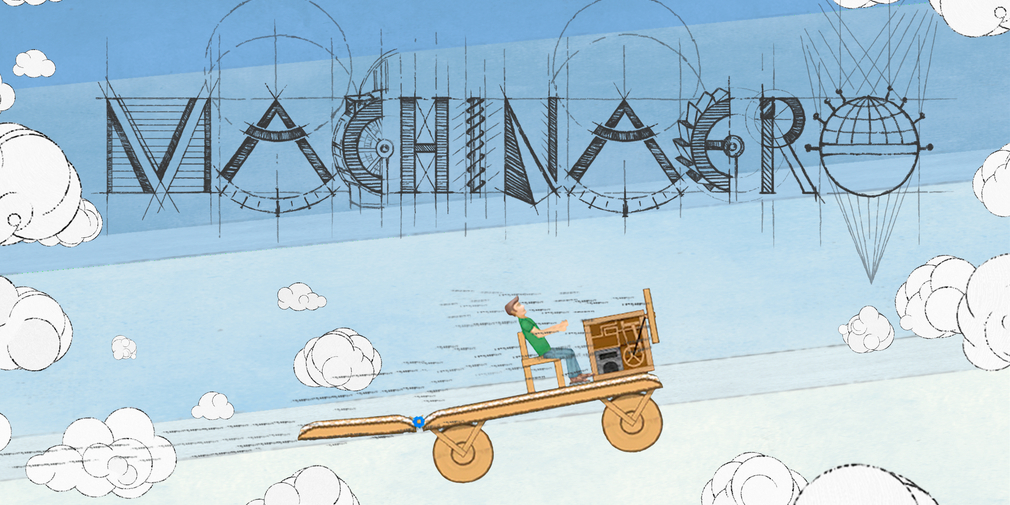 Machinaero, a game about inventing your own vehicles, is available now for iOS