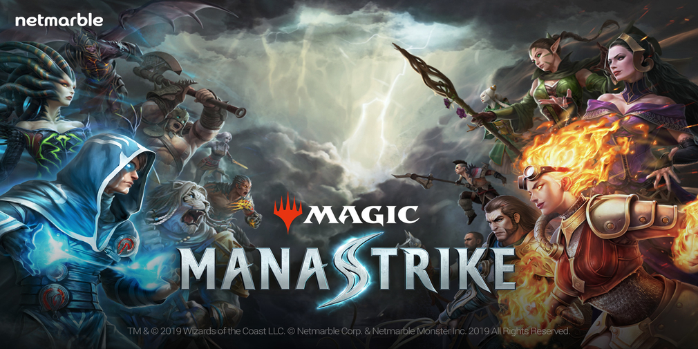 Magic: Manastrike, Netmarble's upcoming Clash Royale style game, is available to pre-register for iOS and Android