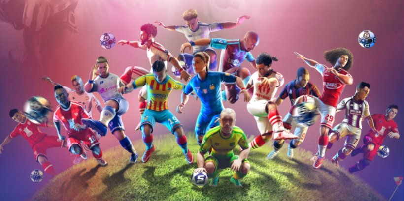 Sociable Soccer's next update improves player AI, overhauls controls, and adds a competitive clan system