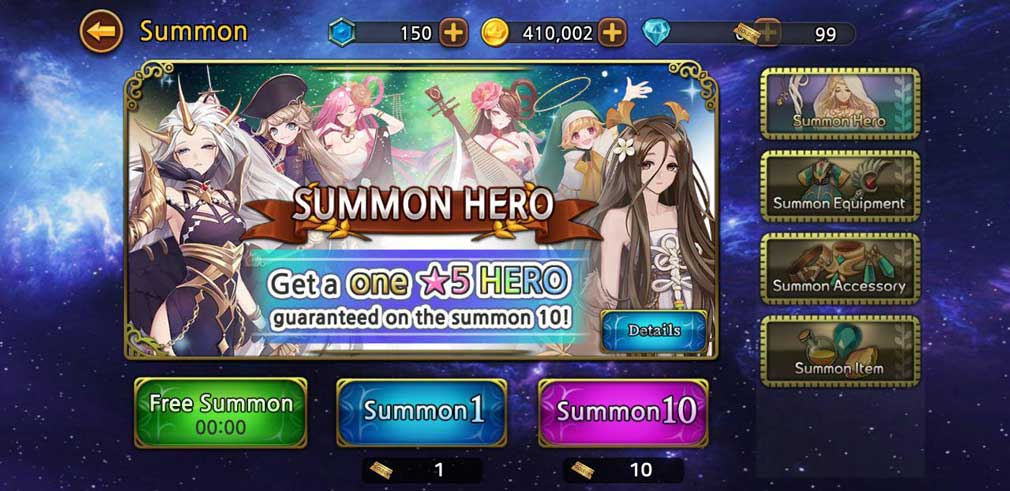 Nadiasoft launches Dungeon & Goddess, a new hero-collecting RPG for Android