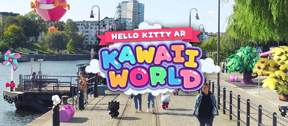Be among the first to play Hello Kitty AR: Kawaii World