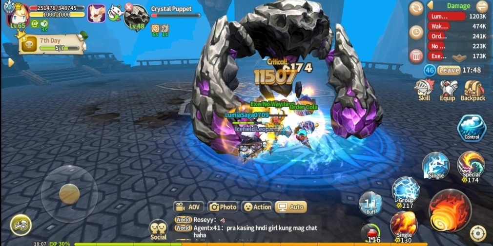 Lumia Saga is a cute-looking MMORPG for iOS and Android arriving in December