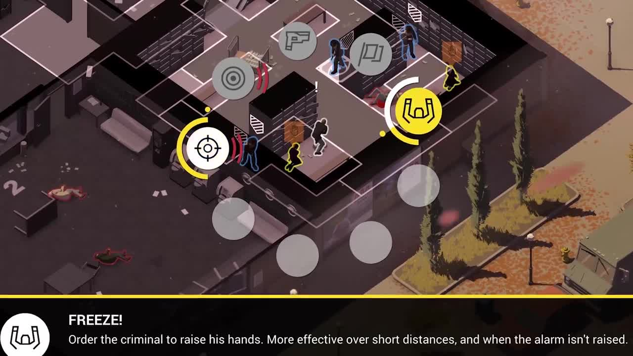 Rebel Cops, now available for pre-registration on iOS and Android