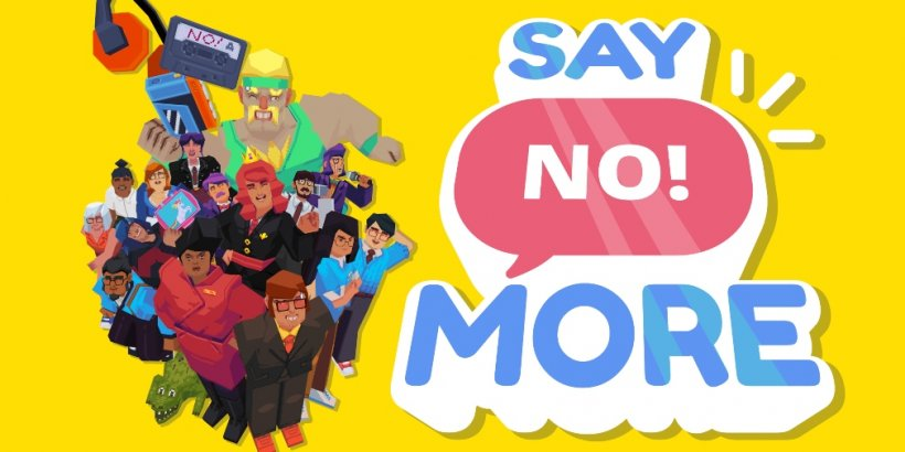 Say No! More, the comedic one-button action game, is now available for iOS