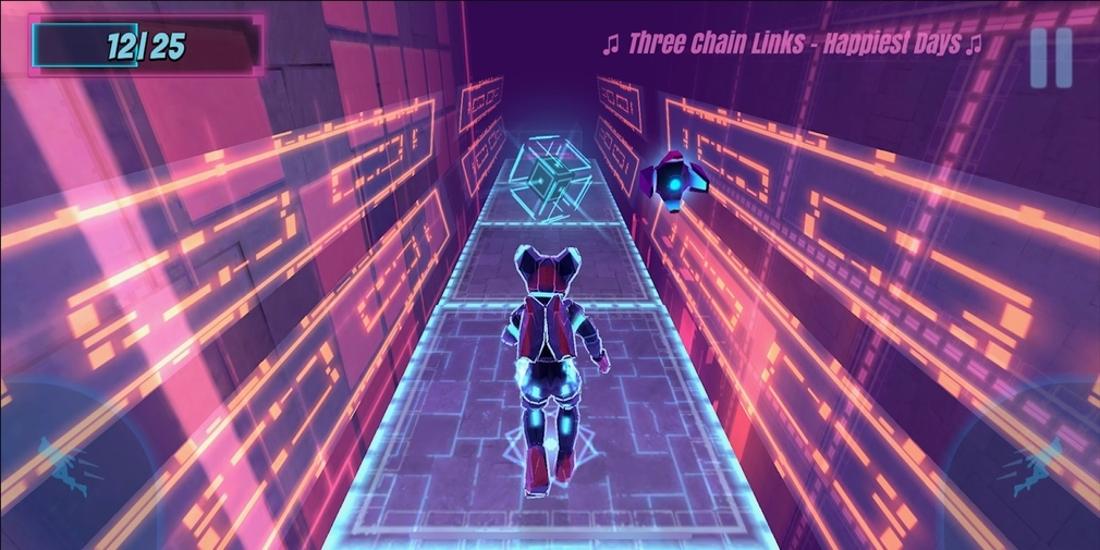 Synthwave Runner is a stylish looking runner for iOS and Android that's available now