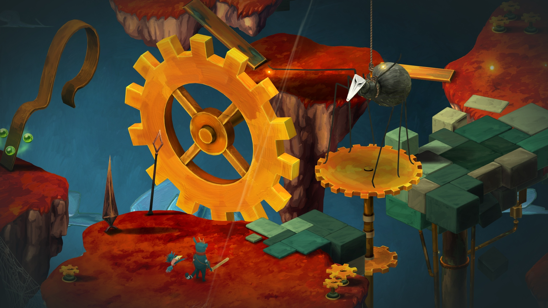 Figment is a surreal puzzle and action game for iOS that'll be available on 28th November