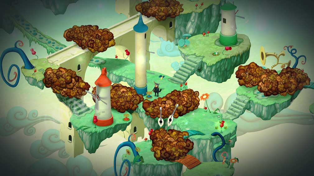 Bedtime Digital discusses its surreal action puzzler, Figment: Journey into the Mind