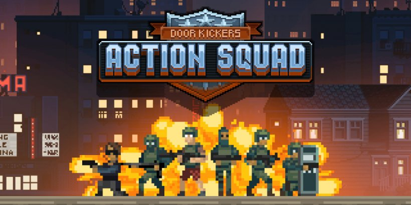 [Update] Door Kickers: Action Squad, KillHouse Games' action-packed shooter, is now available to pre-register for Android