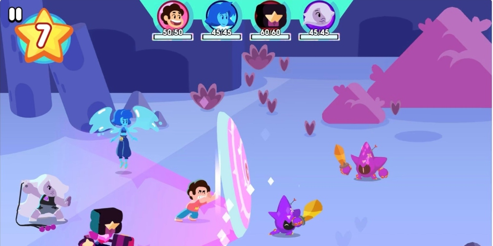 Unleash the Light is a Steven Universe RPG that's available now for Apple Arcade