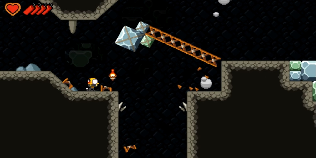 Mineblast, Neutronized's latest platformer for iOS and Android, will bring its physics-based destruction to phones this week