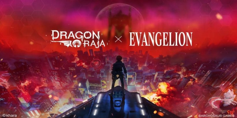 Dragon Raja partners with popular Japanese anime, Evangelion, for a crossover event