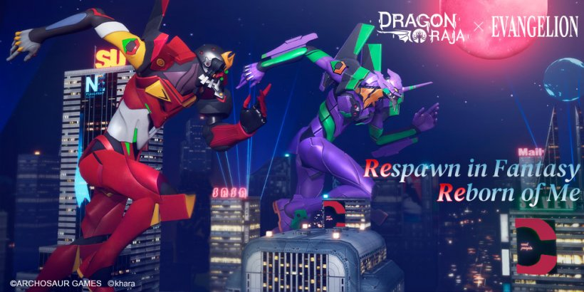Dragon Raja x Evangelion is now available for PC: here's why you should give it a try