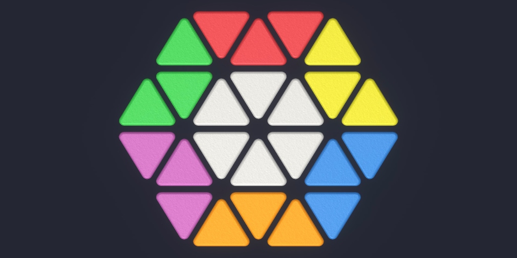 Eclidus is a 2D puzzle game for iOS and Android that aims to be the Rubik's Cube of mobile gaming
