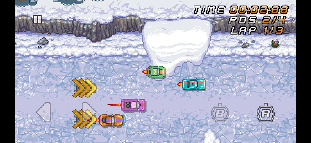 Get your retro gaming fix in Super Arcade Racing, new from OutOfTheBit studio