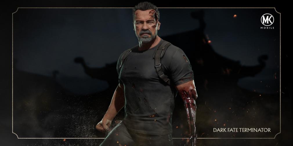 Mortal Kombat Mobile adds Arnold Schwarzenegger's Dark Fate era Terminator to its ever-expanding roster
