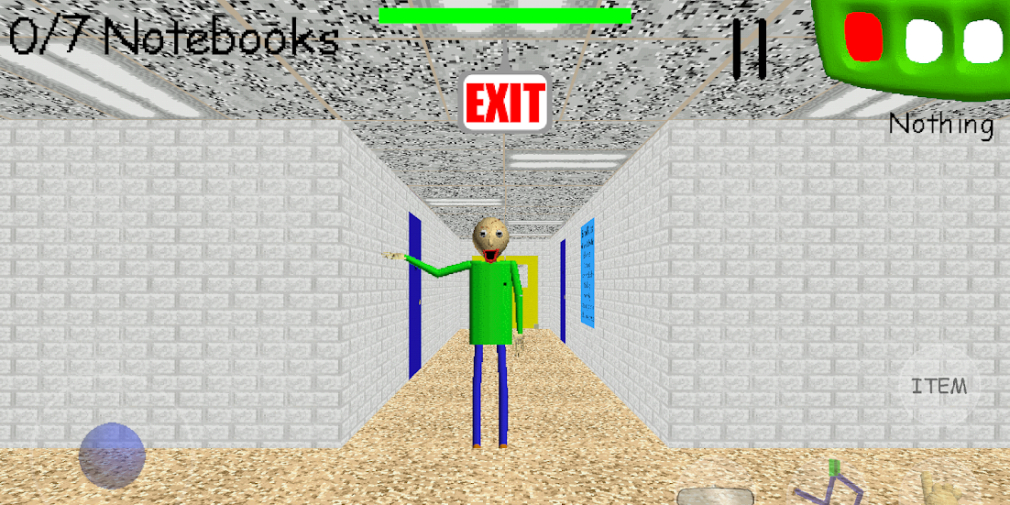 Baldi's Basics Classic, a mobile version of the cult horror game, creeps onto Android and iOS