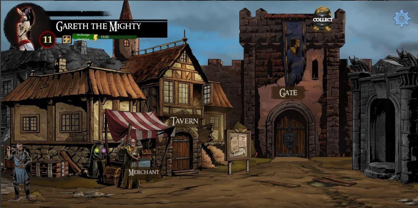 Lazara Battle Heroes, an idle fantasy RPG with gritty, comic-book artwork is out now for Android