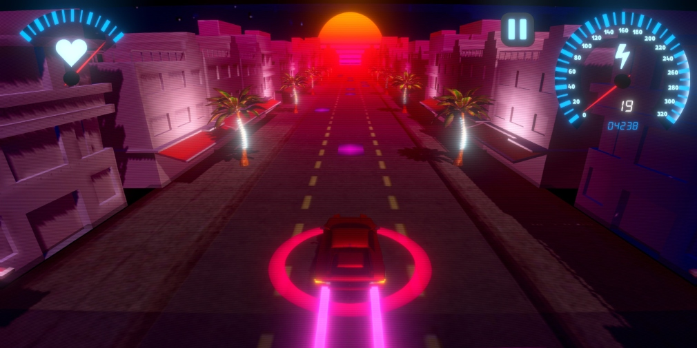 OverDrive is a rhythm-based driving game for iOS and Android that's available now