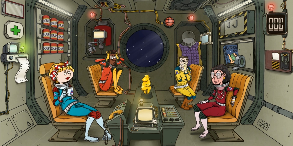 60 Parsecs!, Robot Gentleman's space survival adventure, has arrived for iOS and Android