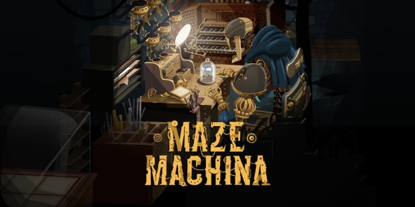 Maze Machina is an upcoming turn-based puzzle game for iOS and Android from the creator of Card Crawl