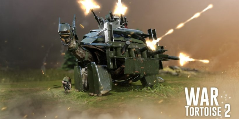 War Tortoise 2, the idle shooter featuring giant gun-toting tortoises, is available now for iOS and Android