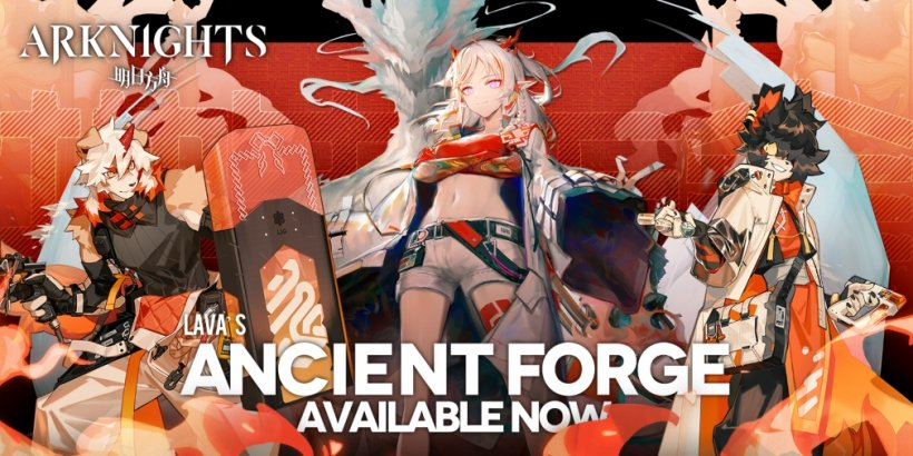 Arknights, the popular tower defence game, is celebrating its six-month anniversary with an event called Ancient Forge
