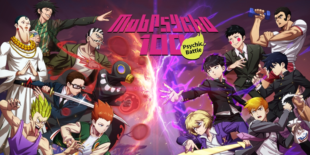 Mob Psycho 100: Psychic Battle is a new RPG for iOS and Android based on the popular anime