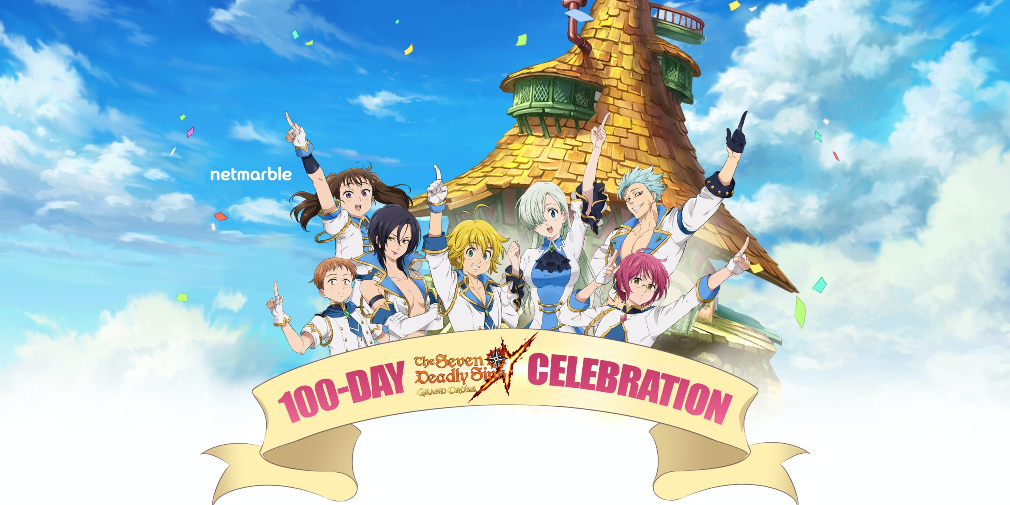 The Seven Deadly Sins: Grand Cross celebrates its 100th day of launch with in-game events, new characters, and a fresh battle mode