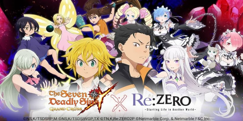 The Seven Deadly Sins: Grand Cross collabs with popular anime Re:ZERO for a crossover event