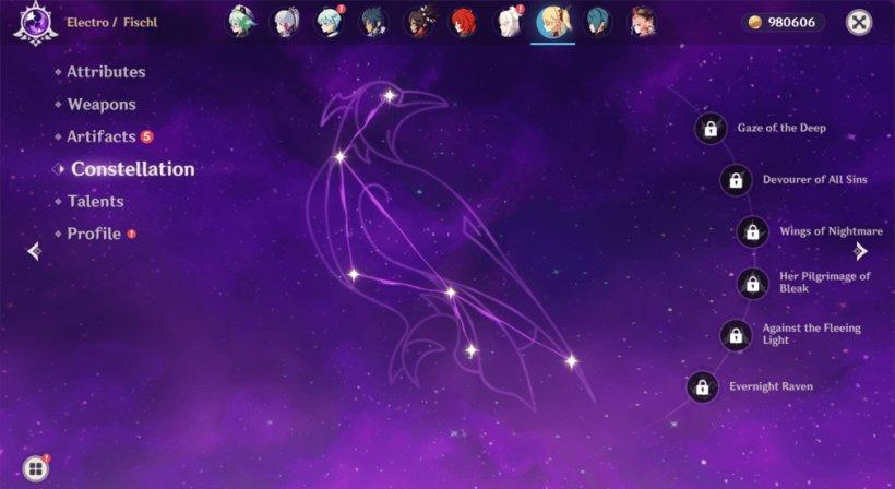 Fischl Constellation