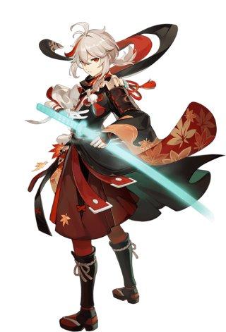 Kazuha Appearance