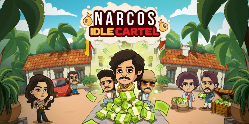 Narcos: Idle Cartel is an idle clicker based on the hit Netflix series
