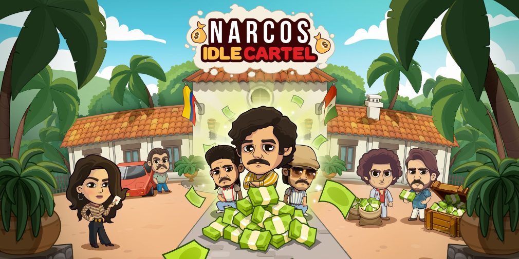 Build up your own criminal empire in Narcos: Idle Cartel, out now for iOS & Android