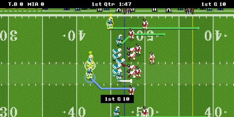 Retro Bowl is a new American football sim for iOS and Android