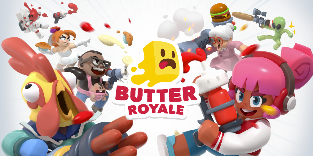 Butter Royale is a food-fight themed battle royale game launching today for Apple Arcade