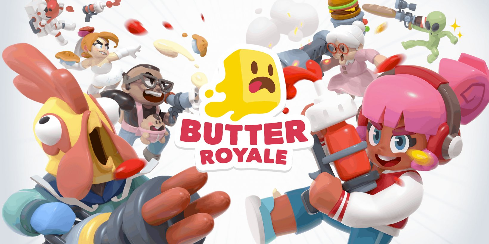Butter Royale's Candy Cane Season update brings new festive skins and a new powerup to the cute food shooter