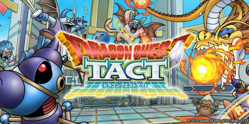 Dragon Quest Tact is now available for global pre-registration