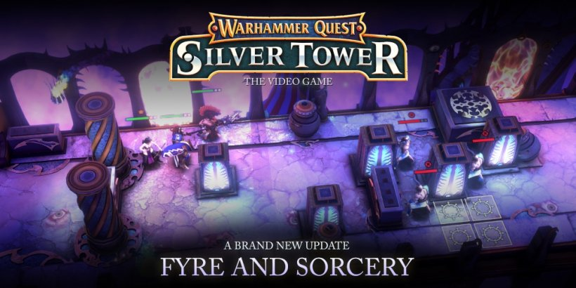 Warhammer Quest: Silver Tower's latest expansion, Fyre and Sorcery, is now available in the turn-based strategy game