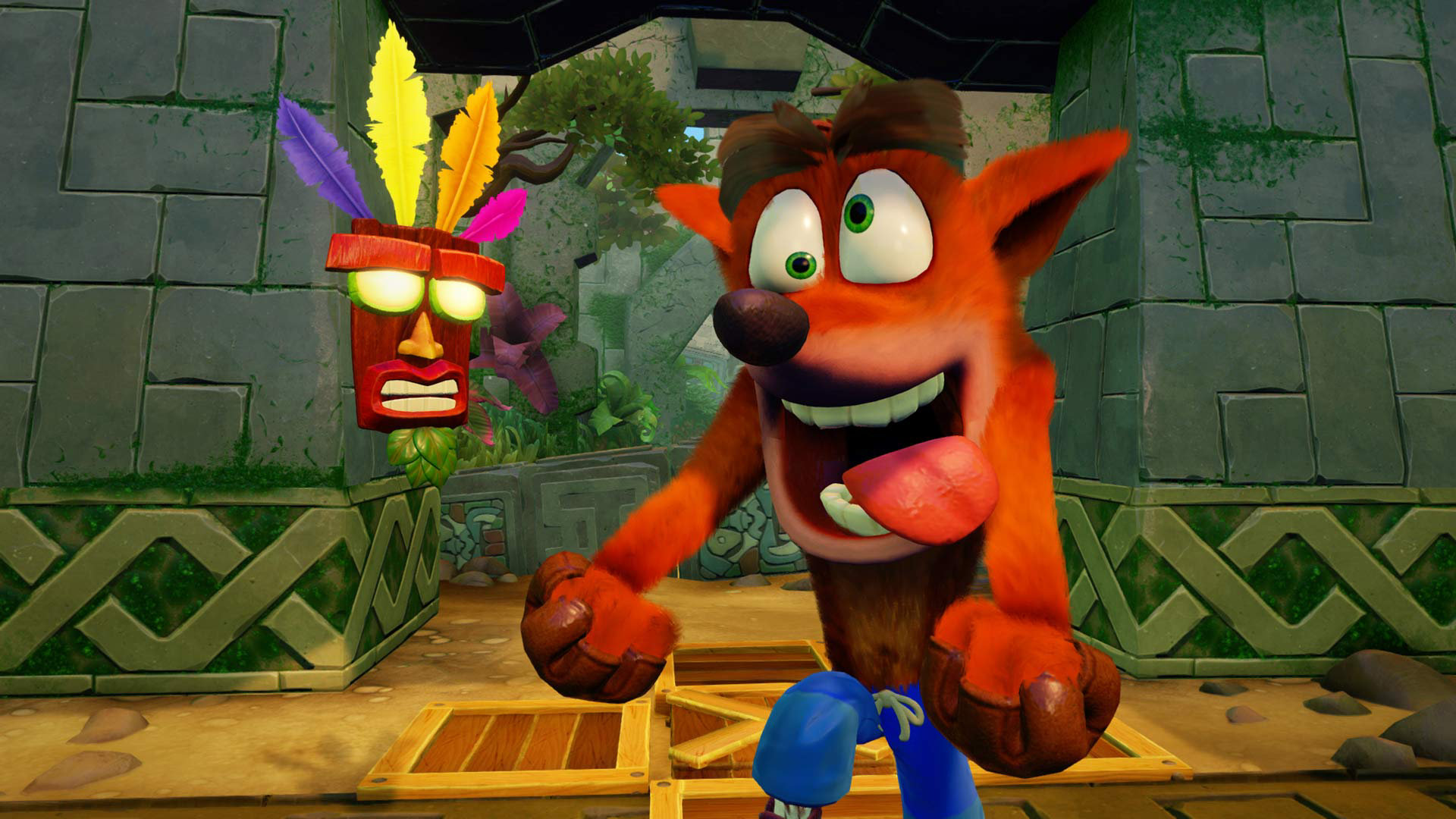 Le runner Crash Bandicoot: on the Run tease sa sortie prochaine sur mobiles
