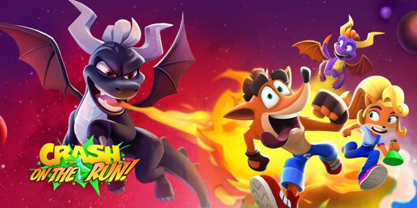 Crash Bandicoot: On the Run! launches crossover with Spyro in Season 3: Battle of the Dragons