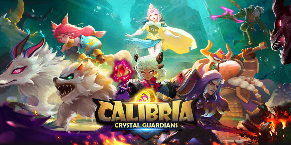Calibria: Crystal Guardians is a 3D hero collecting RPG that's available now for iOS and Android